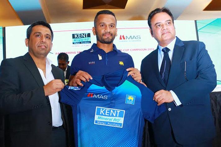 ICC World Cup 2019: Kent RO Principal Sponsor of Sri Lanka team